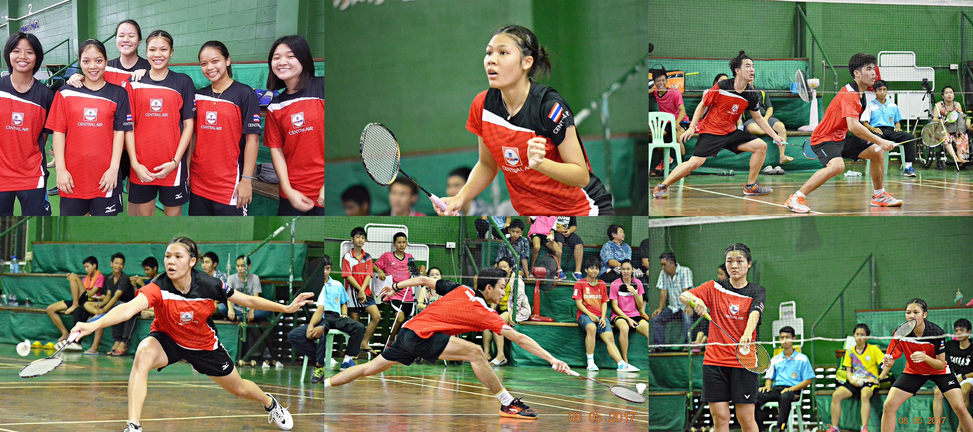 ทีมแบดมินตันนนทบุรี กีฬาแห่งชาติ ครั้งที่ 46 จันทบุรีเกมส์