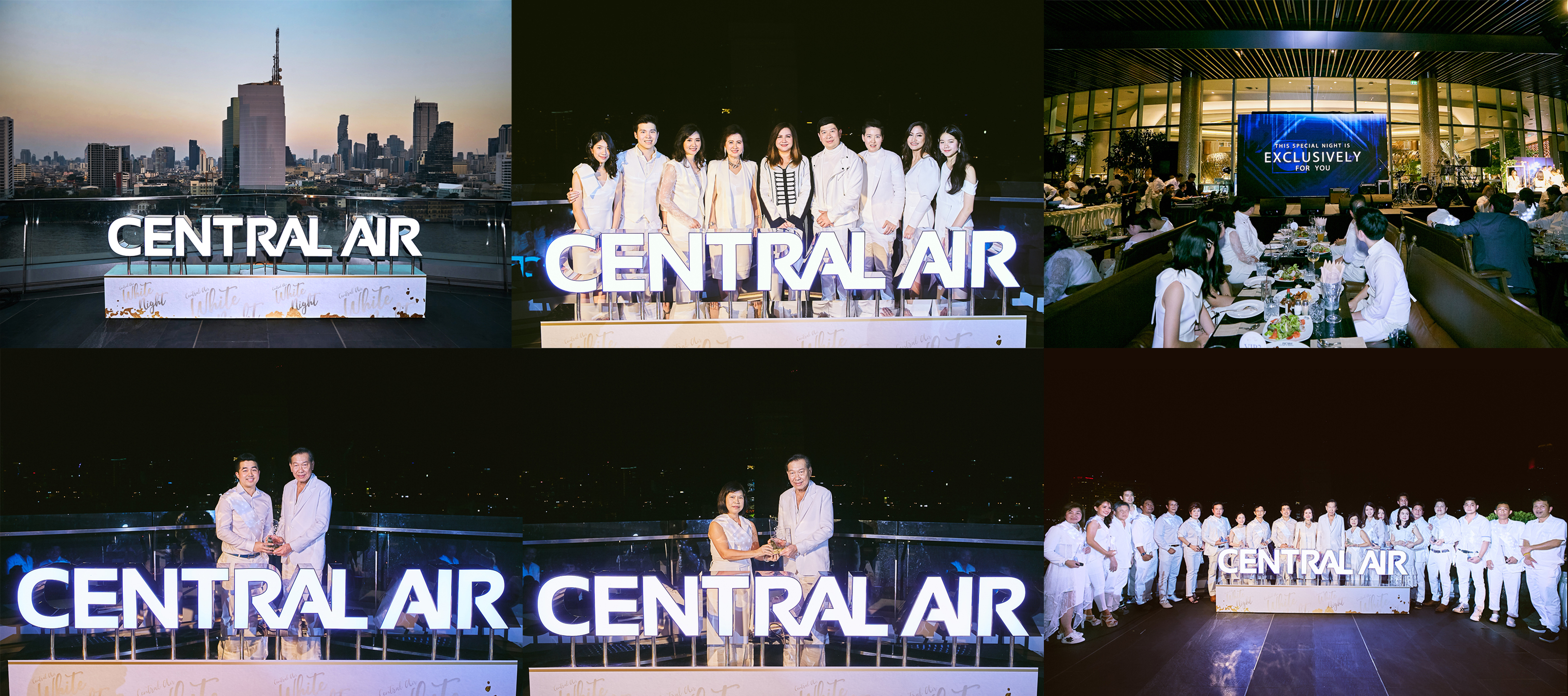 """CENTRAL AIR WHITE NIGHT"""" @ICONSIAM 15.12"""